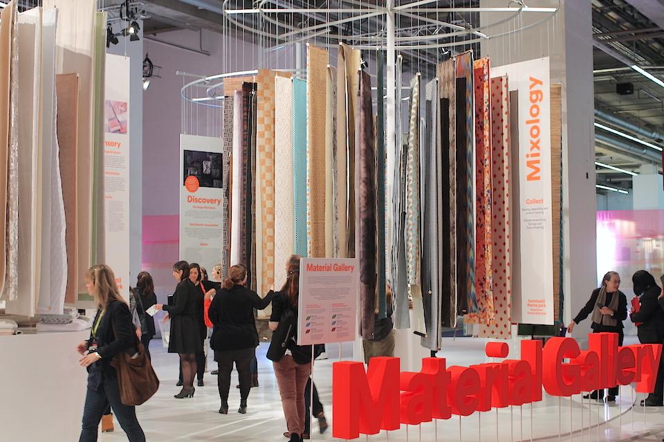 Material Gallery bei der Heimtextil in Frankfurt 2015_960px