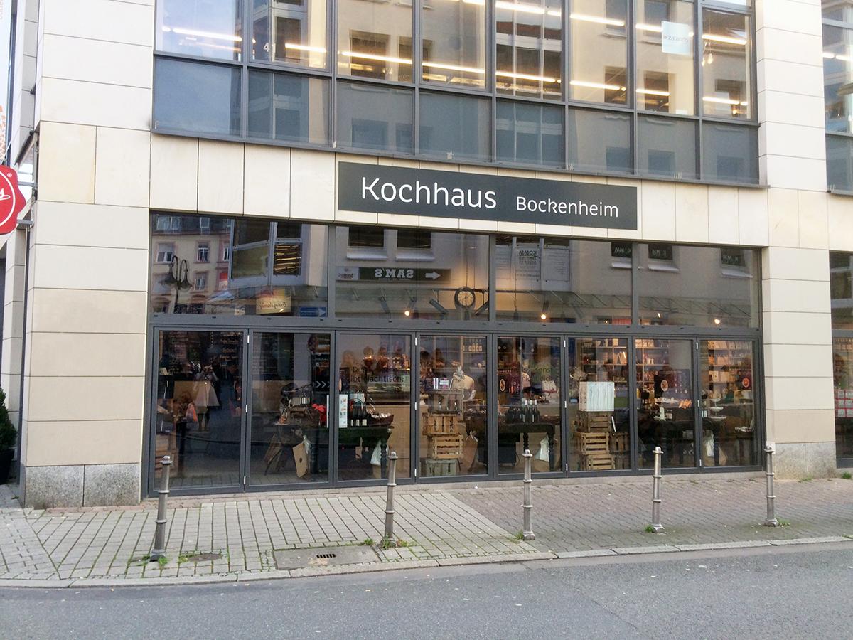 Das Kochhaus im Frankfurter Stadtteil Bockenheim ist so etwas wie ein begehbares Rezeptbuch. Foto: Lieblings
